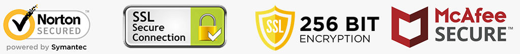 Norton, SSL Secure 256-Encryption